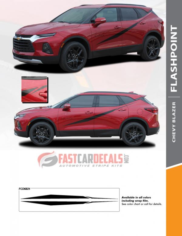 FLASHPOINT SIDE KIT | 2019-2020 Chevy Blazer Body Stripes