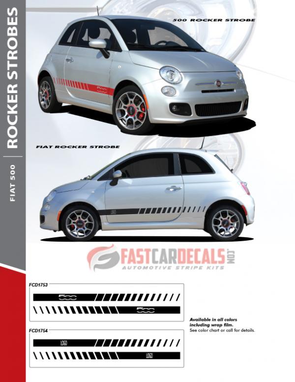 2010-2019 Fiat 500 Rocker Strobes