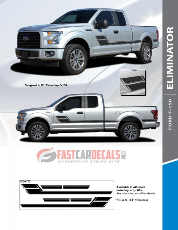 2019 Ford F150 Graphics ELIMINATOR 2015 2016 2017 2018 2019 2020