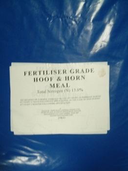 25kg Hoof And Horn Organic Fertiliser Ebay