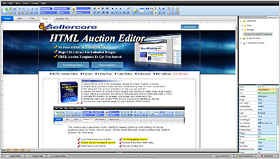 Free ebay templates auction listing html generator sellercore for Free ebay templates html